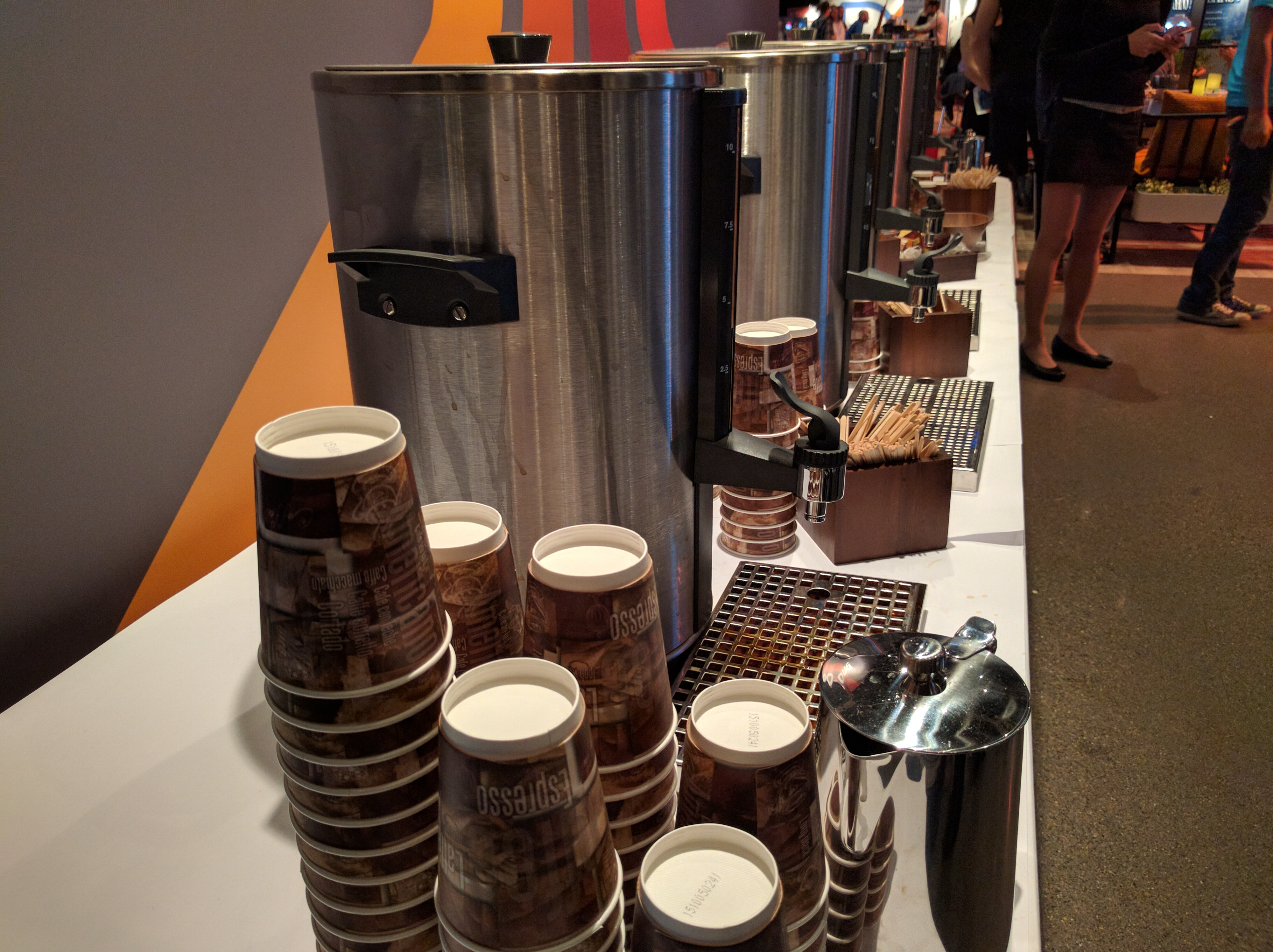 Plenty of caffeine for the developers